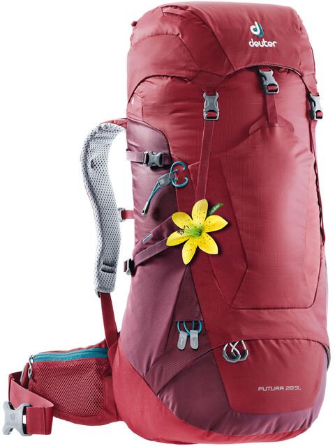 Deuter W's Futura 28 SL Backpack cranberry-maron